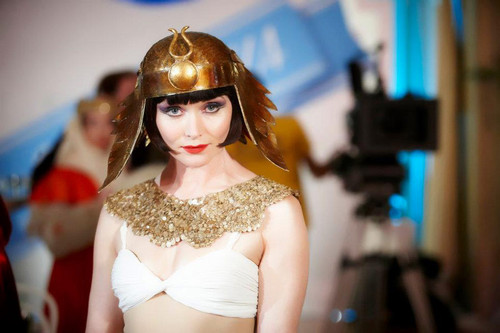 Miss Fisher as Cleopatra