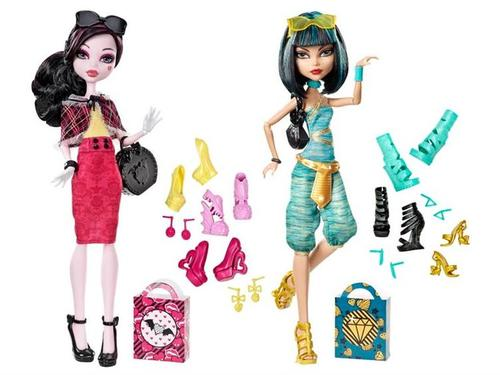 Monster High I hati, tengah-tengah Shoes anak patung