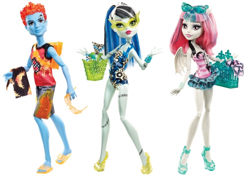 Monster High Make a Splash