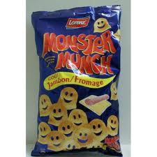 Monster Munch Jambon/Fromage