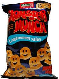 Monster Munch Légèrement Salés