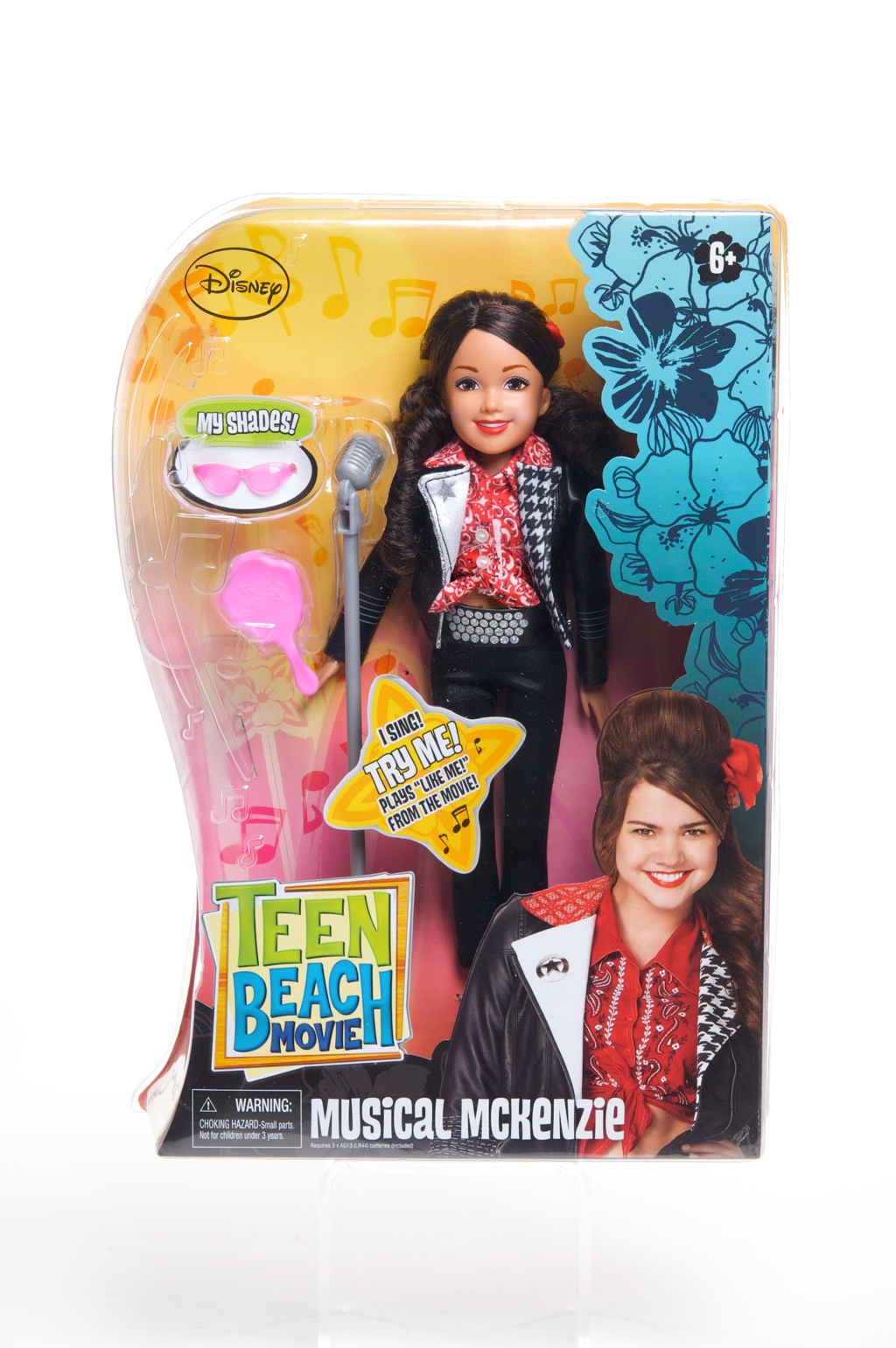 Teen Beach Movie Musical Mack doll