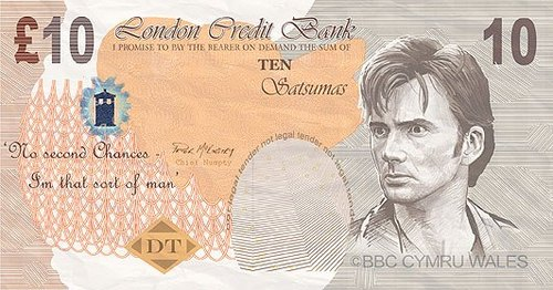 My Ideal £10 Note! :D