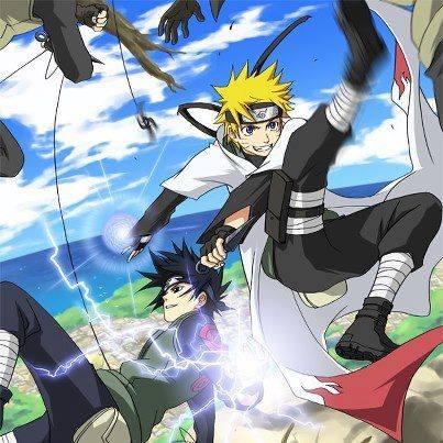 Naruto and Sasuke Team