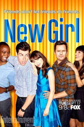 Teen テレビ shows 壁紙 titled New Girl