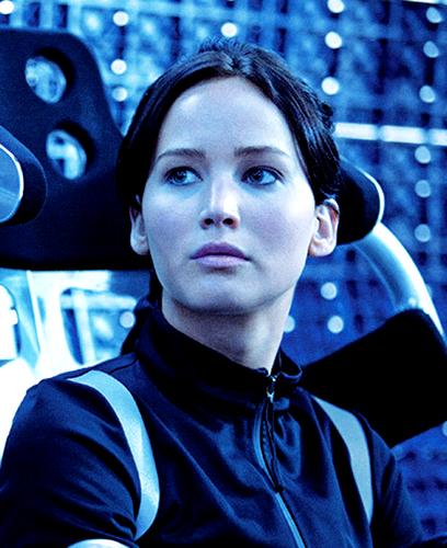 Katniss-Catching آگ کے, آگ