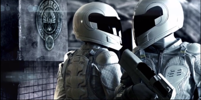 New images of the Catching feu Peacekeepers