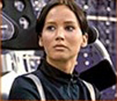New still of Katniss in Catching Fire!