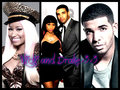 Nicki Minaj and Drake!!!! - drake-and-nicki fan art