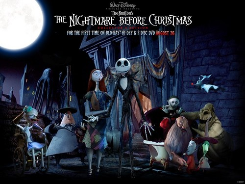 Nightmare Before Christmas wallpaper possibly containing a street and a sign entitled Nightmare Before Christmas Epicness