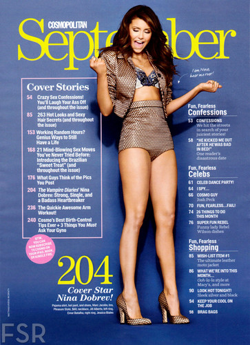 Nina for Cosmopolitan - September Issue