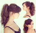 Nina getting ready for the TCAs 2013 - nina-dobrev photo
