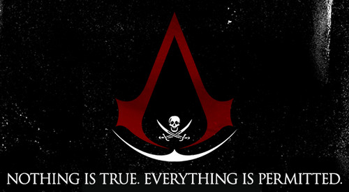 The Assassins Wallpaper Titled Nothing Is True Everything Permitted