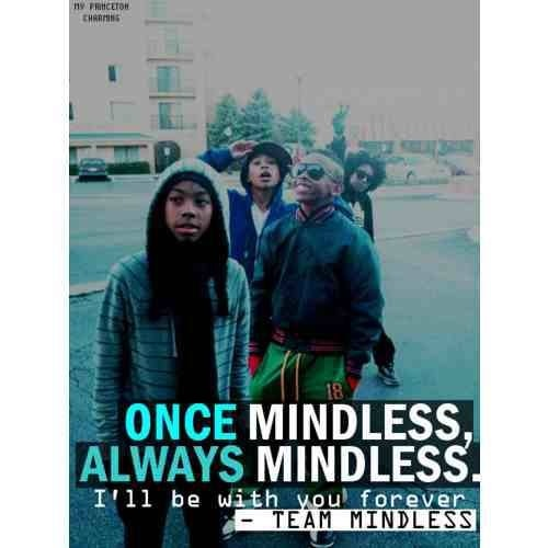 Once Mindless Always Mindless If Your Gonna Be Mindless Than Stay Mindless