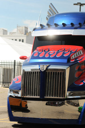 Optimus on display