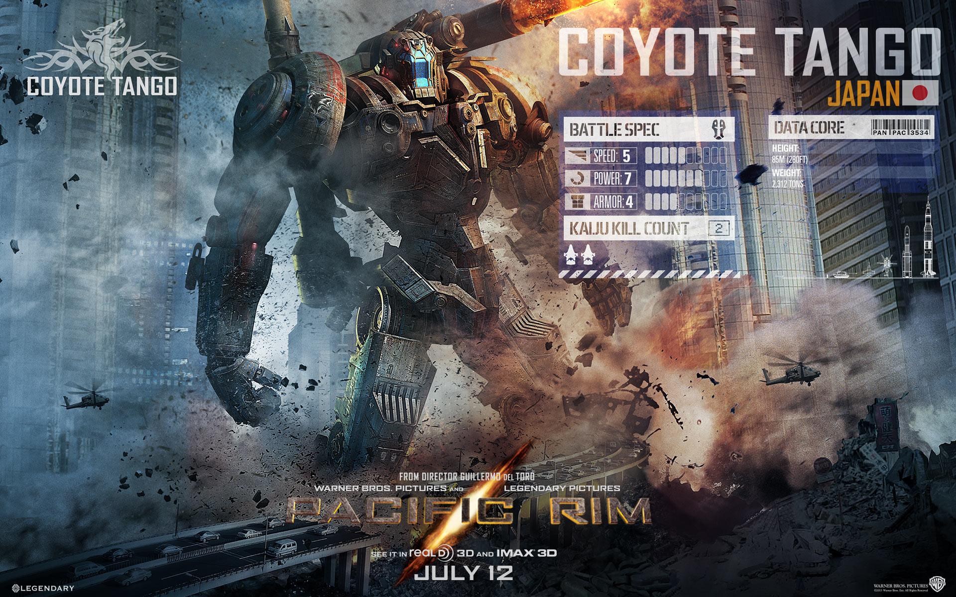 Pacific Rim Bilder Coyote Tango - 763.7KB