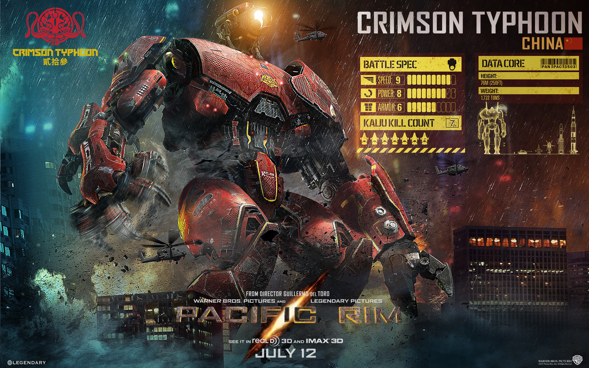 Pacific Rim Images Crimson Typhoon HD Wallpaper And Background Photos
