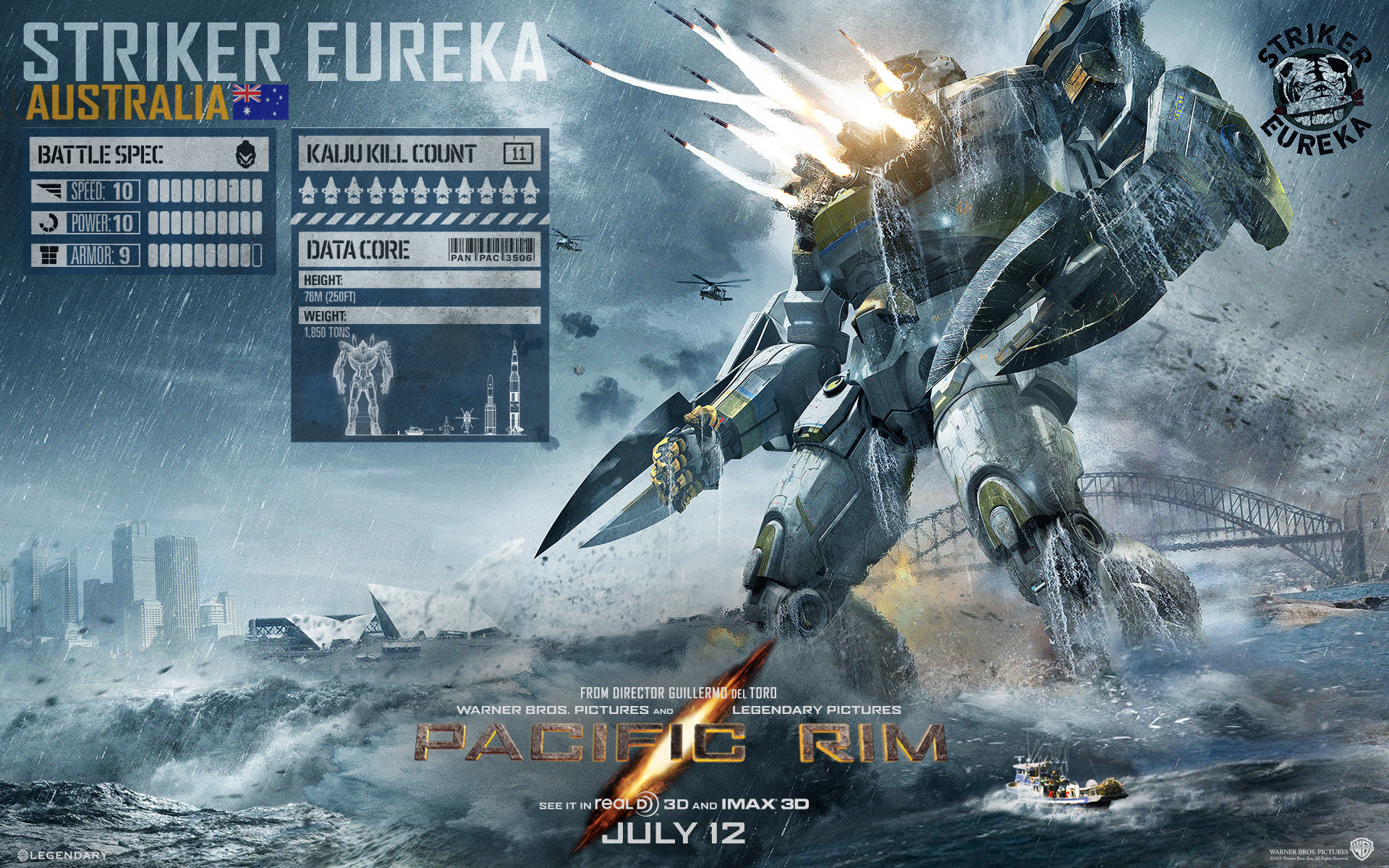 Pacific Rim Images Striker Eureka HD Wallpaper And Background Photos