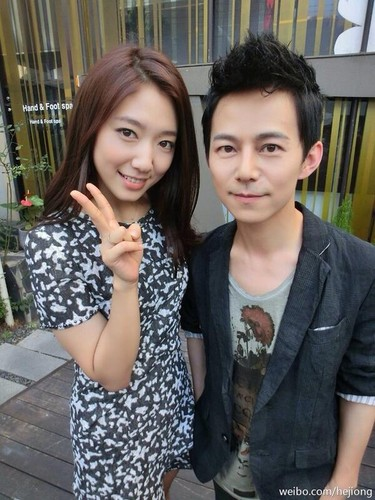 Park Shin Hye With Chinese Actor