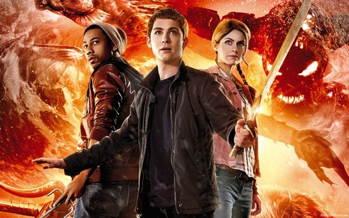 Ingrid's Graceland wallpaper with an abattoir called Percy Jackson: Sea of Monsters ಇ