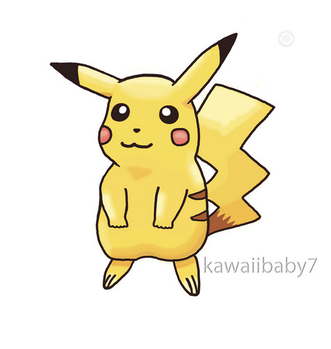 Pikachu ~ Drawing Von NurseJoy77 / Kawaiibaby7