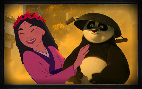 Po and Mulan