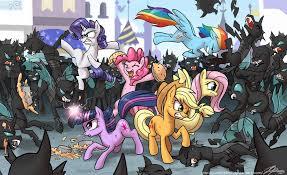 kuda, kuda kecil peminat Art Dump~