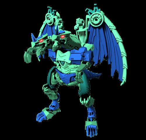 Transformers karatasi la kupamba ukuta entitled Predacon Sawtooth
