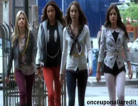 "Pretty Little Liars 4.12 ""Now 당신 See Me, Now 당신 Don't"""