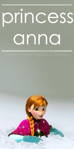 Princess Anna Card - frozen Photo