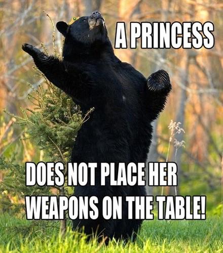 Princess beruang