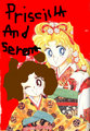 Priscilla and serena - sailor-mini-moon-rini fan art