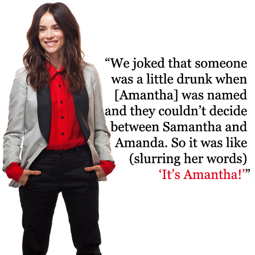 Quote from this interview with Abigail Spencer for the New York Times