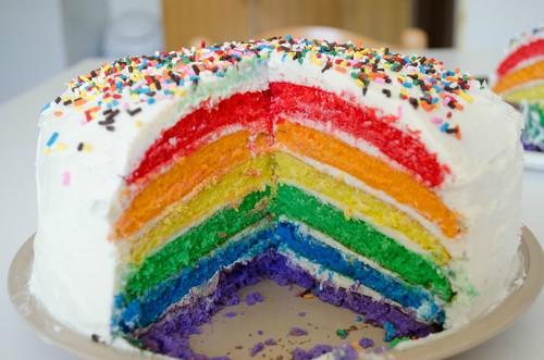Rainbow Cakes ♡