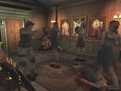 Resident Evil wallpaper probably with a brasserie, a drawing room, and a concert called Resident Evil 3: Nemesis