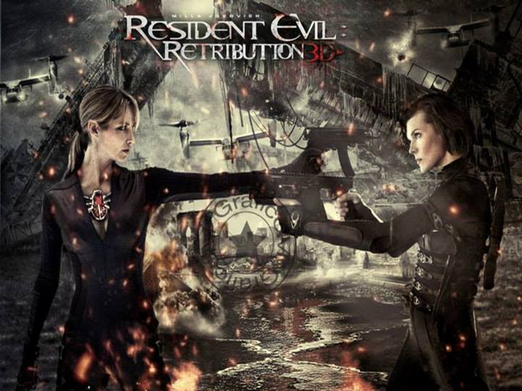 Resident Evil Retribution Logo Resident Evil Retribution