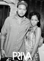 Rihanna with her brother - rihanna photo