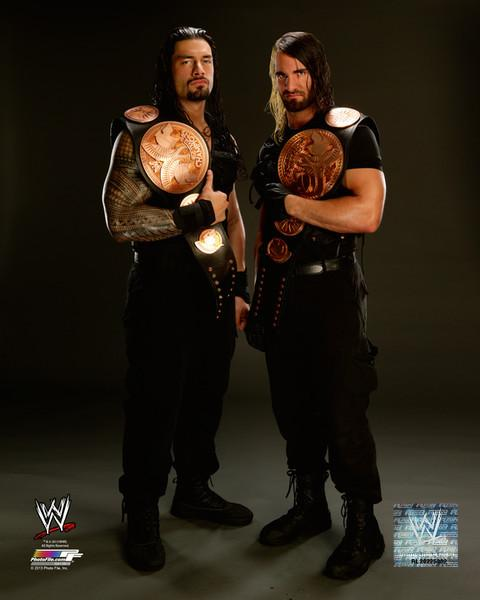 Roman Reigns and Seth Rollins - The Shield (WWE) Photo ...