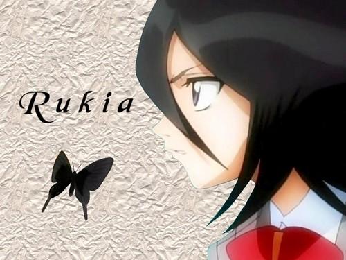 Rukia Kuchiki!<3