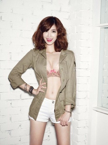 SECRET's Hyosung is a sexy cowgirl for ropa interior brand 'Yes'