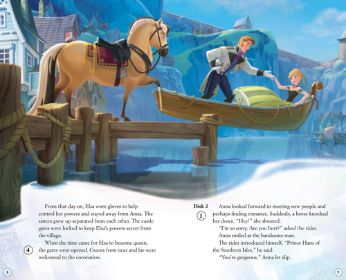 SPOILER - Frozen book