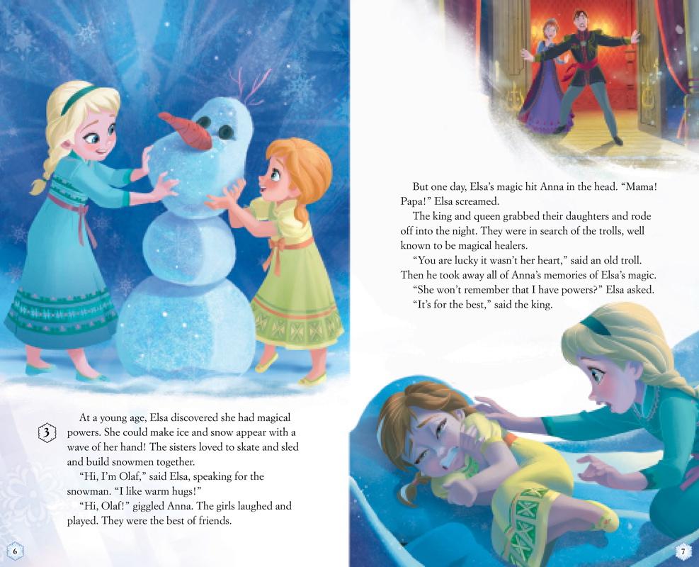 SPOILER - Frozen book
