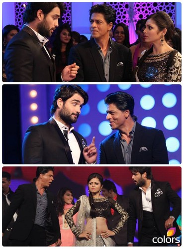 SRK on set of Madhubala