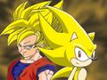 SSJ Goku and Super Sonic