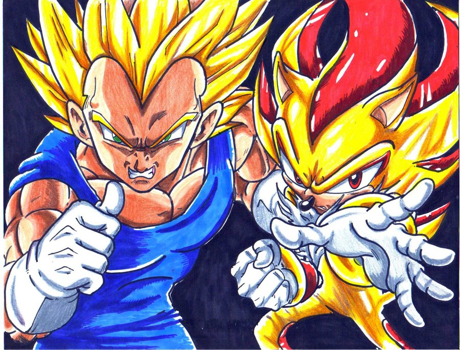Rileyferguson Images SSJ Vegeta And Super Shadow HD Wallpaper Background Photos