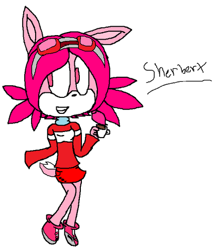 Sherbert the bunny