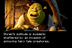 Shrek: Hassle at the castillo
