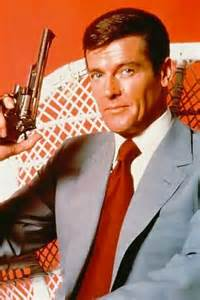 James Bond 바탕화면 possibly with a business suit titled Sir Roger Moore
