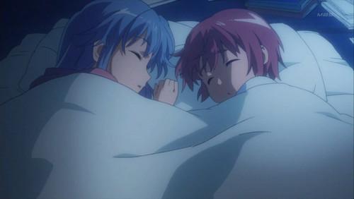 Sleeping together ^_^