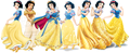 Snow White dress evolution